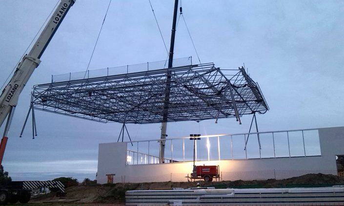 Construcciones Felipe Castellano - Piscina Cubierta Base Naval de Rota
